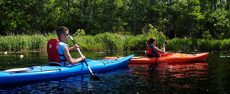 <p>Get an intimate look at the Kitty Hawk Woods by exploring by kayak.</p>